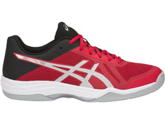 Asics Men GEL-Tactic Classic Red Silver Black - The Racquet Shop