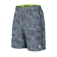 Wilson SU Perspective Print 8 Short - Coal - The Racquet Shop