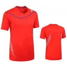 Adidas G92677 Tee Adizero Red - The Racquet Shop
