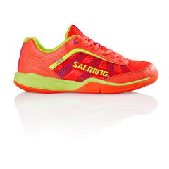 Salming Adder Womens Coral/Yel - The Racquet Shop