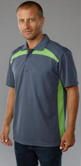 Easy Wolf EW14 Polo Green - The Racquet Shop