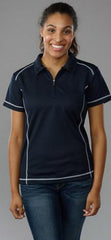 Easy Wolf EW09 Polo Black - The Racquet Shop