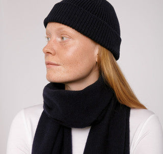 Recycled Cashmere Beanie - Bob´s Fashion