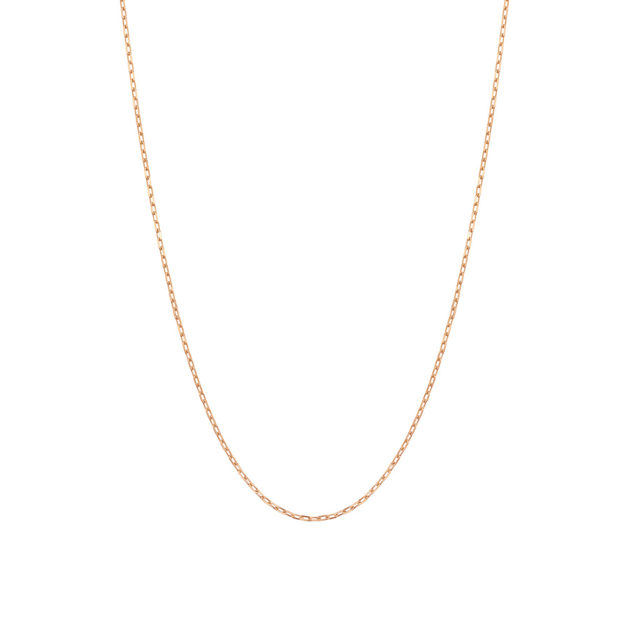 14k Gold Lightweight Square Chain
