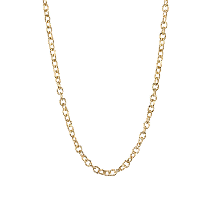 14k Gold Small Oval Link Chain