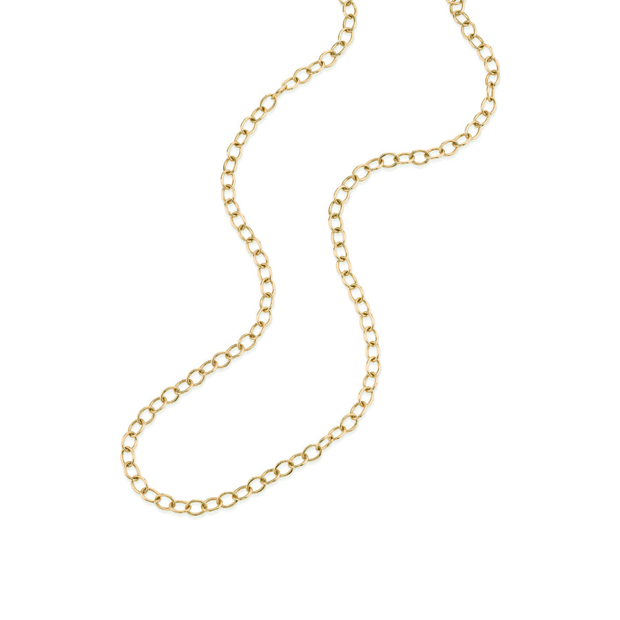 14k Gold Oval Cable Chain