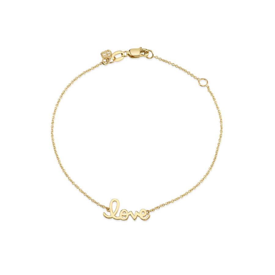 14k Pure Yellow Gold Love Bracelet