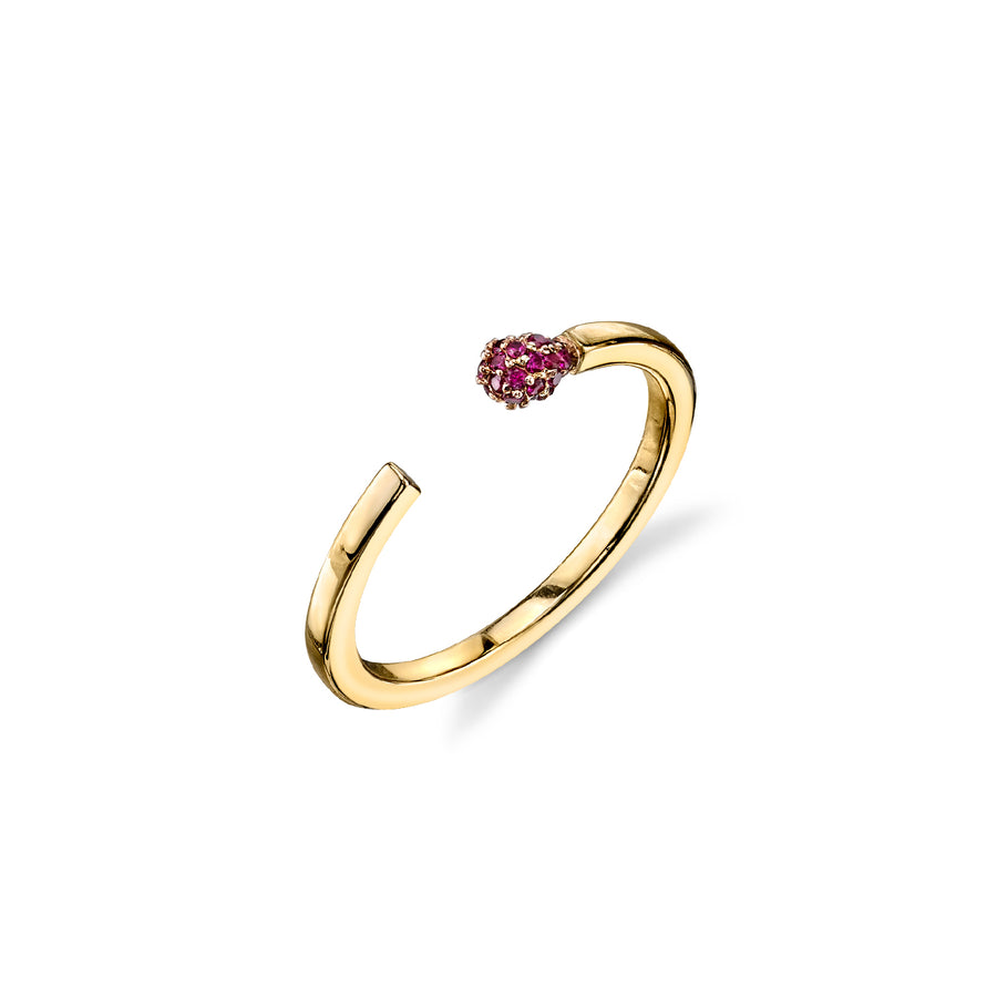 Gold & Ruby Match Ring