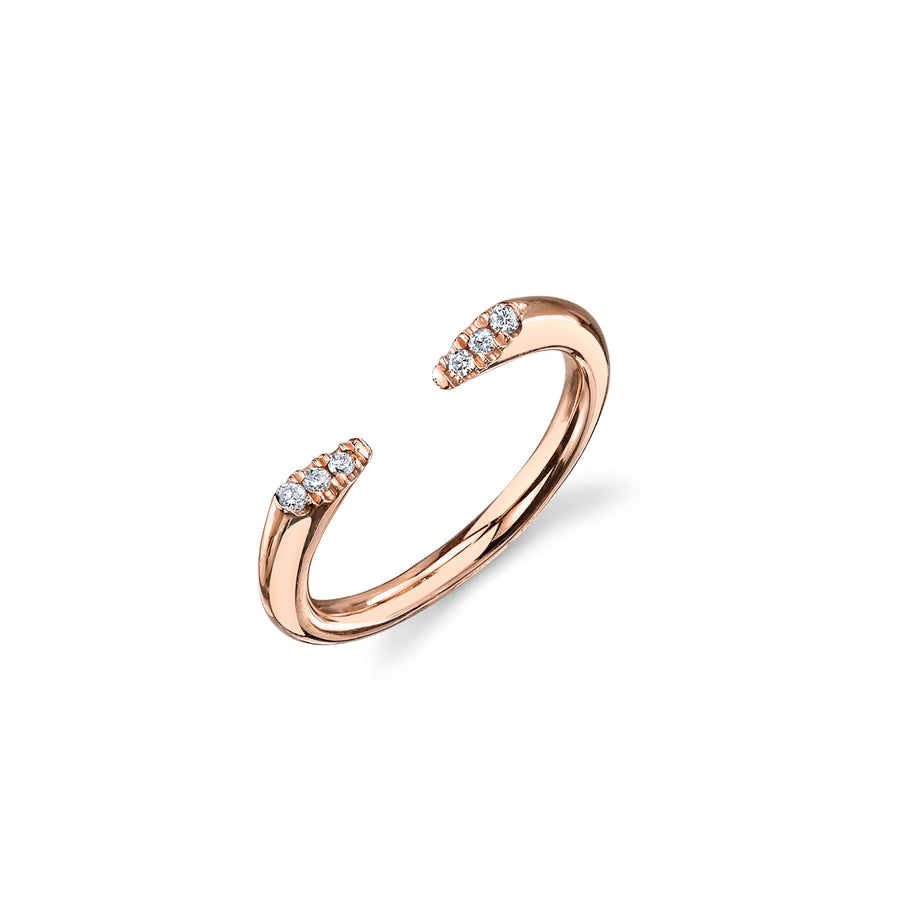Gold & Diamond Door Stop Ring