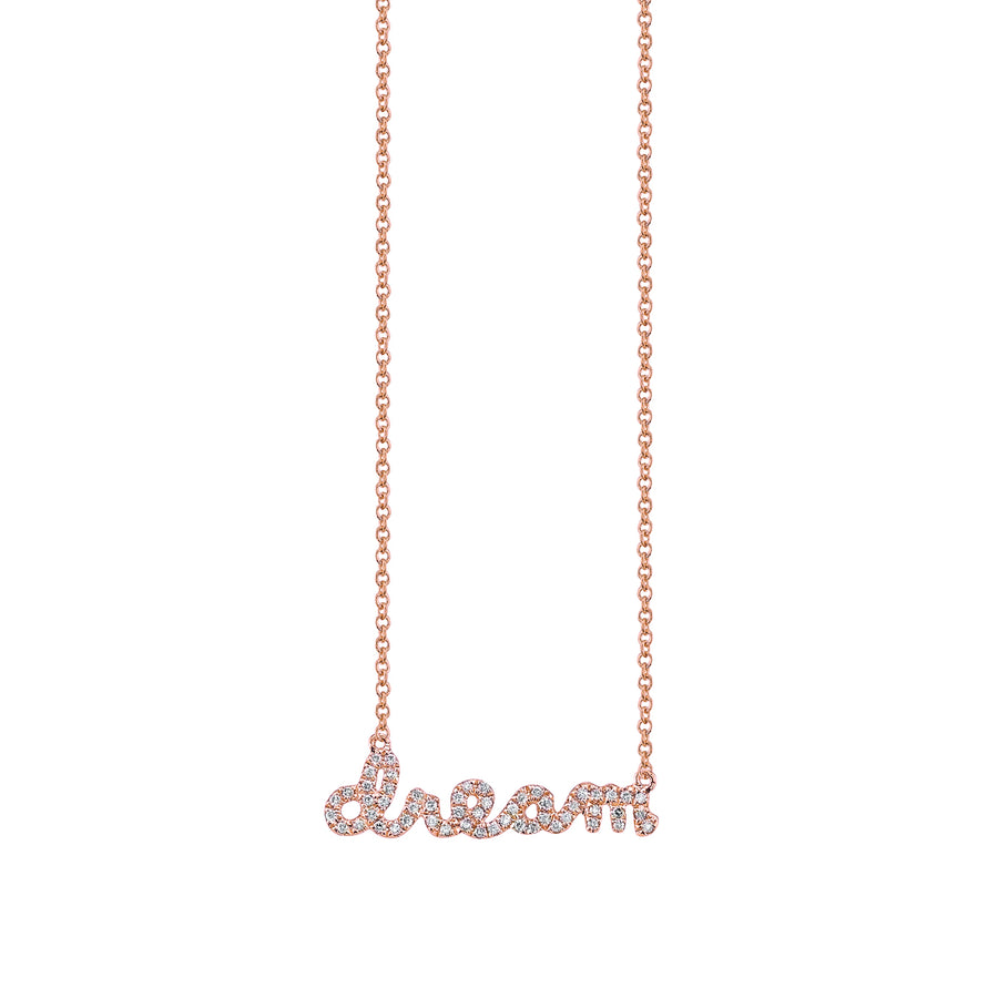 Gold & Pavé Diamond Dream Necklace