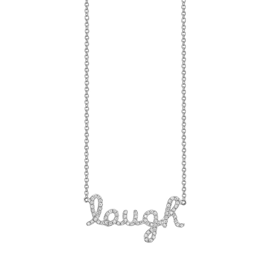Gold & Diamond Laugh Necklace