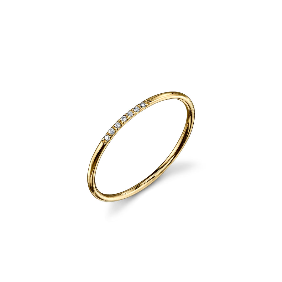 Gold & Diamond 7 Stone Ring
