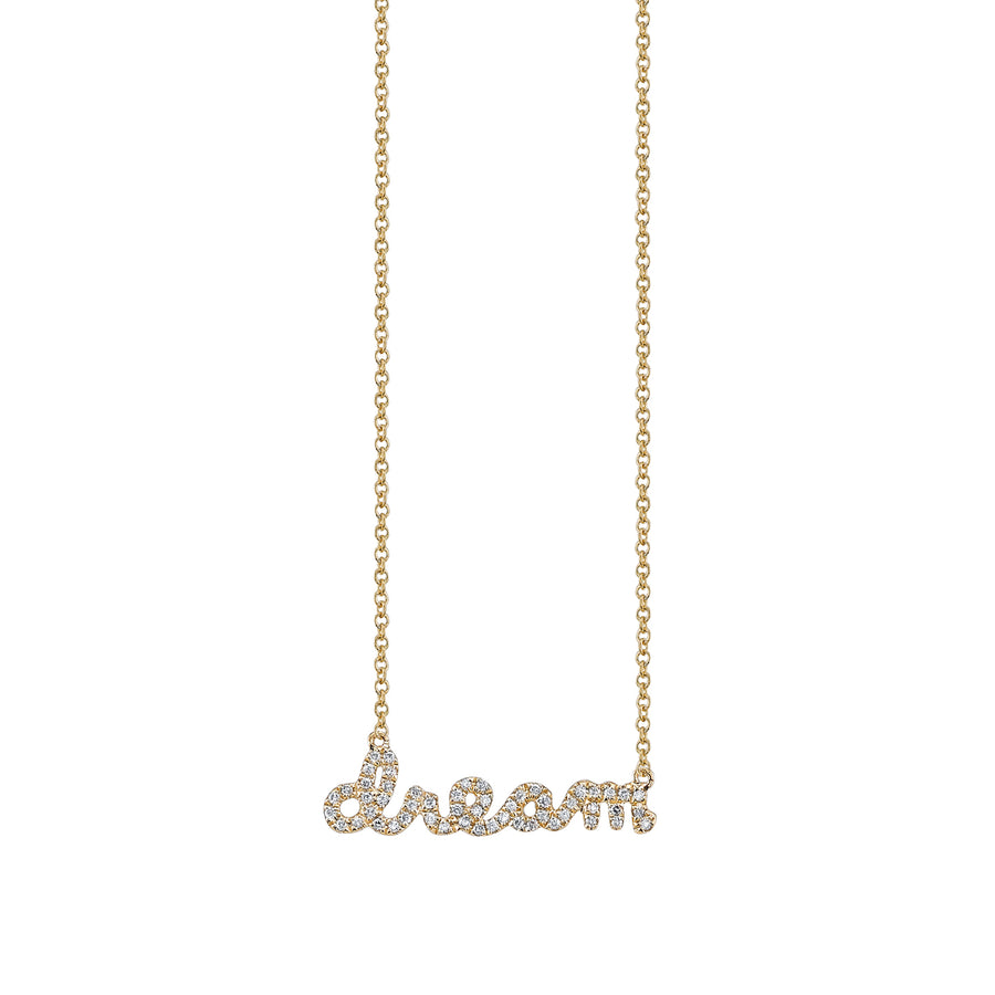 Yellow-Gold & Diamond Dream Necklace