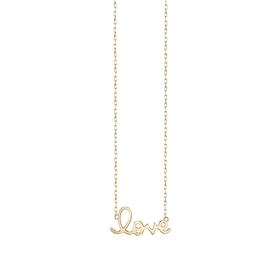 14k Gold Small Pure Love Necklace