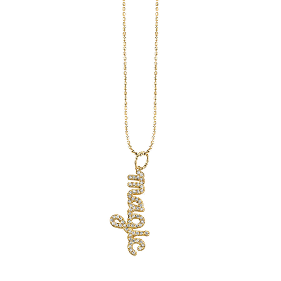 Yellow-Gold and Diamond Magic Necklace
