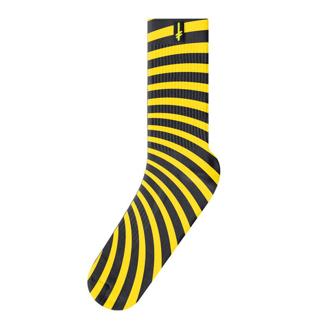 Deathwish Discordia Socks Yellow