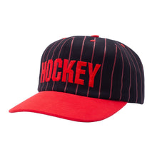 Load image into Gallery viewer, Hockey Striped 5 Panel Hat