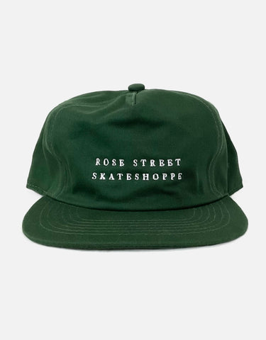 Rose Street Skateshoppe Hat Green