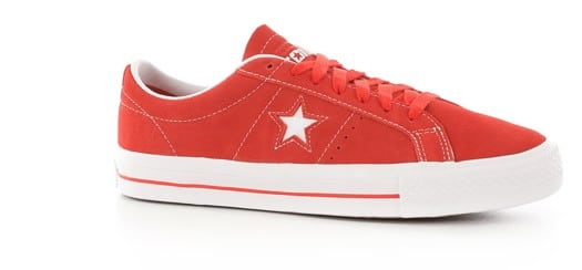 CONVERSE ONE STAR PRO OX UNIVERSITY RED/White