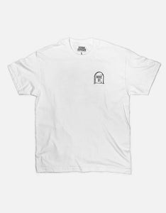 Rose Street Circles Tee White