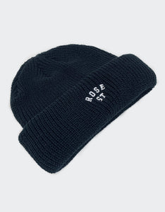 Rose Street Arc Logo Beanie Black