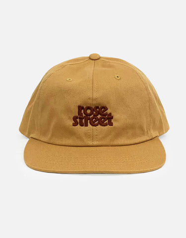 Rose Street Stacked Logo Hat Curry