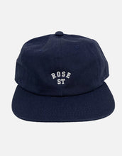 Load image into Gallery viewer, Rose Street Arc Logo Hat Navy