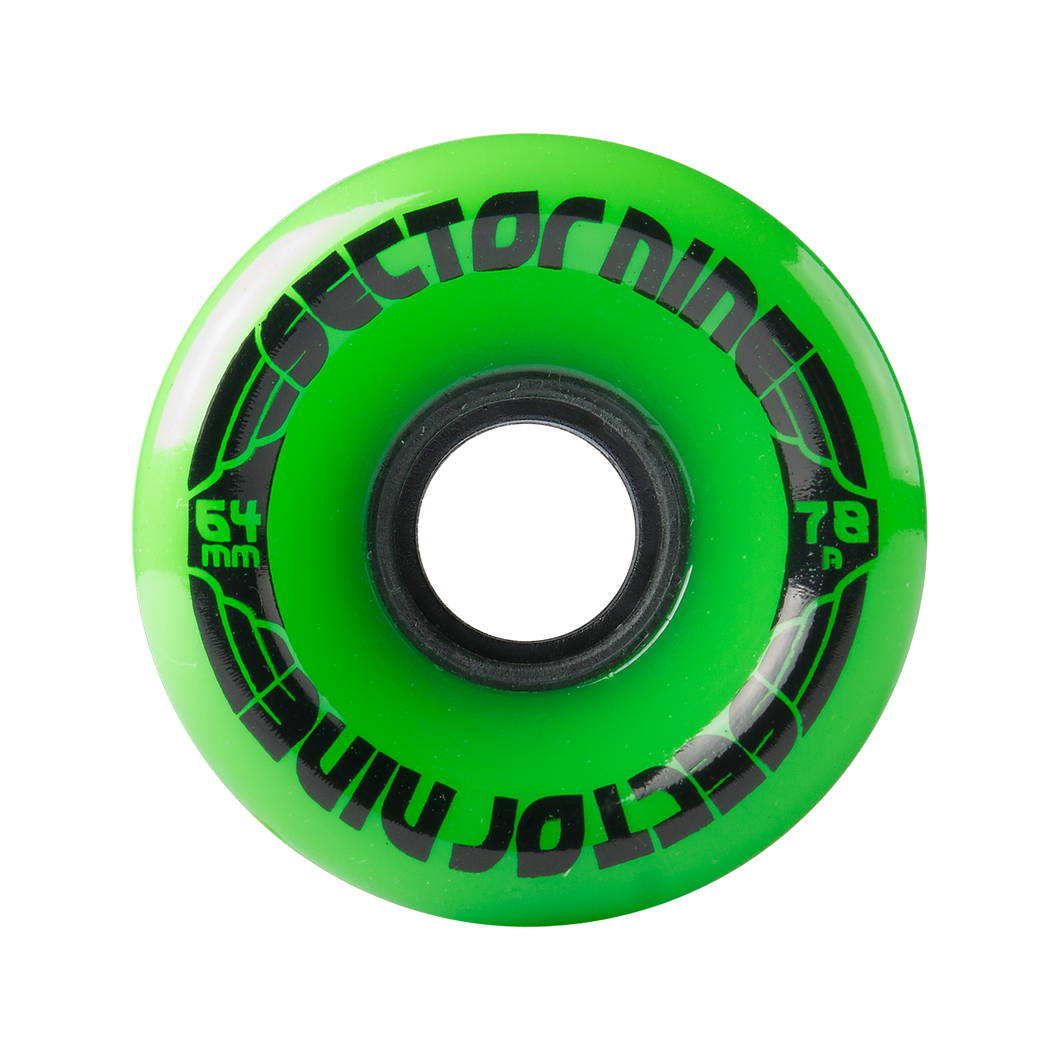 Sector 9 Nineball Opaque Green 64MM 78A