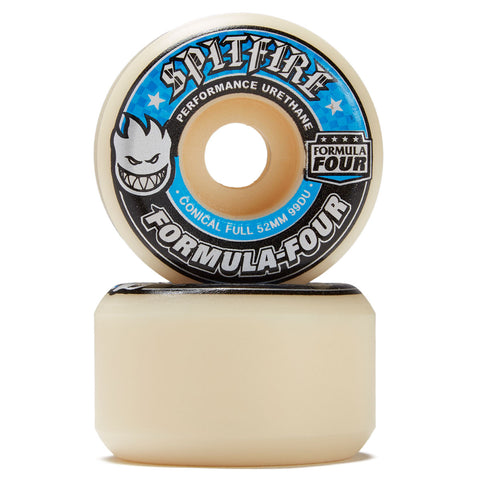 SPITFIRE F4 Conical Full 99A 52MM White/Blue