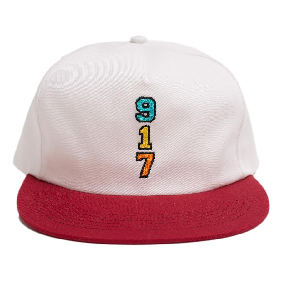 Call Me 917 Genny's 917 Hat Wht/Red