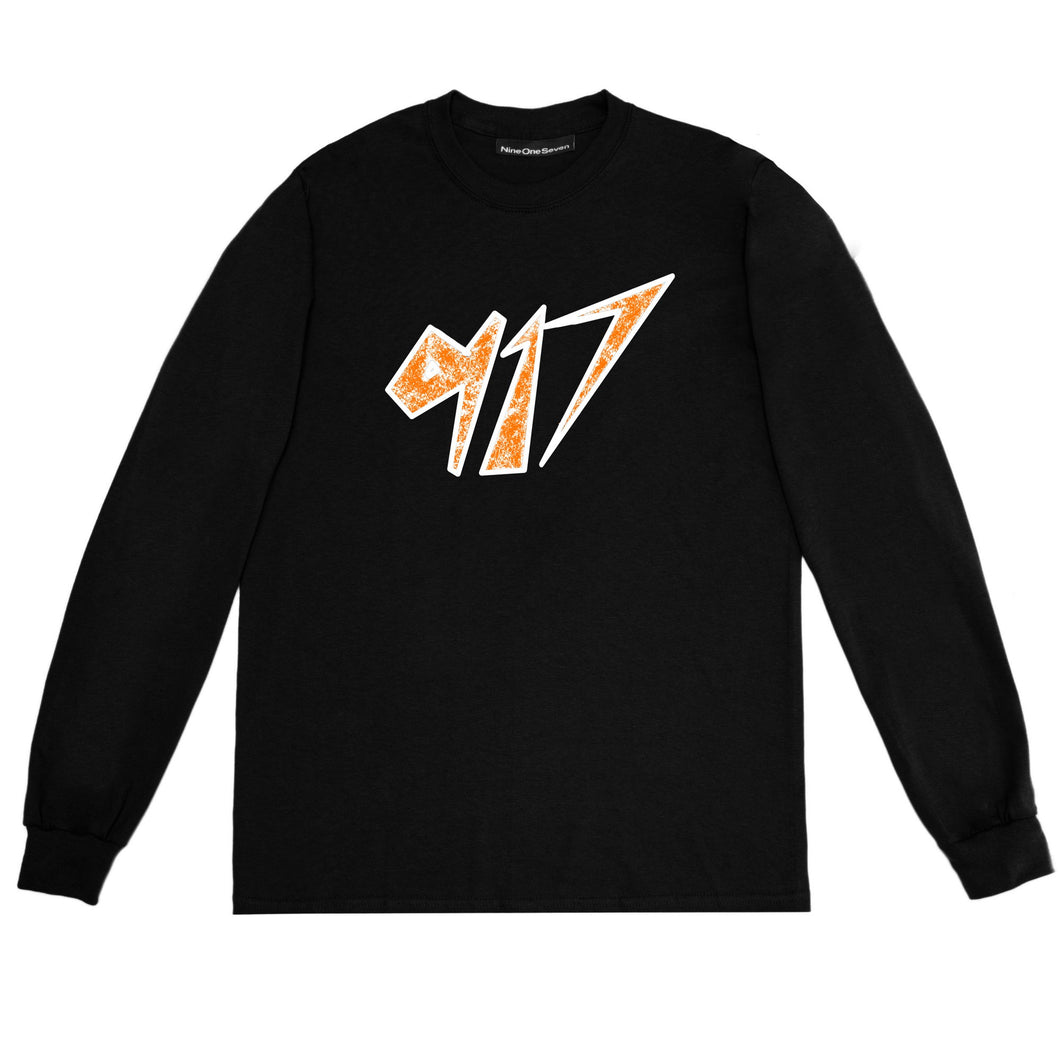 Call Me 917 Space Long Sleeve Black