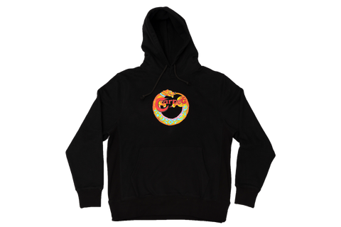 Carpet Company Dog Hoodie Black