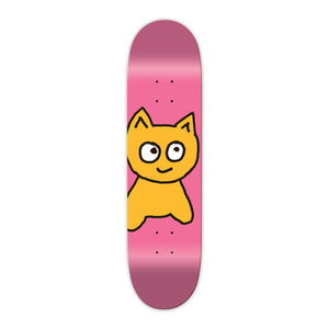 MEOW Mini Big Cat Deck 7.25 Pink
