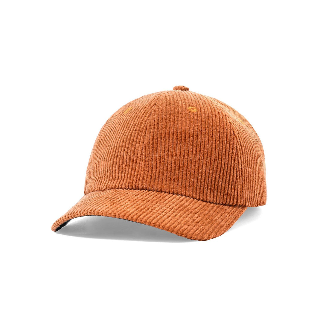 BUTTER RANGER CORD 6 PANEL CAP RUST