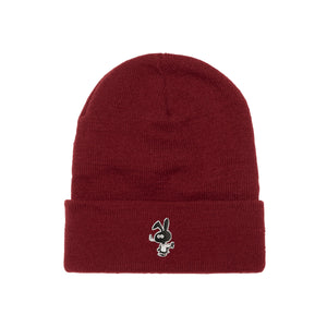 Cold World Cold Bunny Beanie Maroon