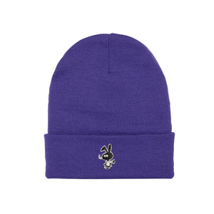 Cold World Cold Bunny Beanie Purple