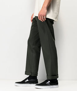 DICKIES 894 SLIM FIT WORK PANT OLIVE GREEN