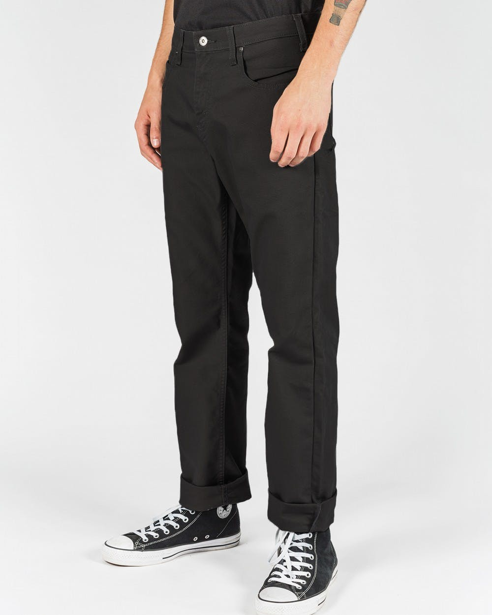 DICKIES 802 TOUGH MAX CARPENTER PANT BLACK