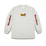 Quartersnacks Middle School L/Sleeve Ash