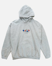 Load image into Gallery viewer, Rose Street May Flowers Hoodie Ash Gray