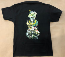 Load image into Gallery viewer, Quartersnacks Botanical Snackman Tee Black