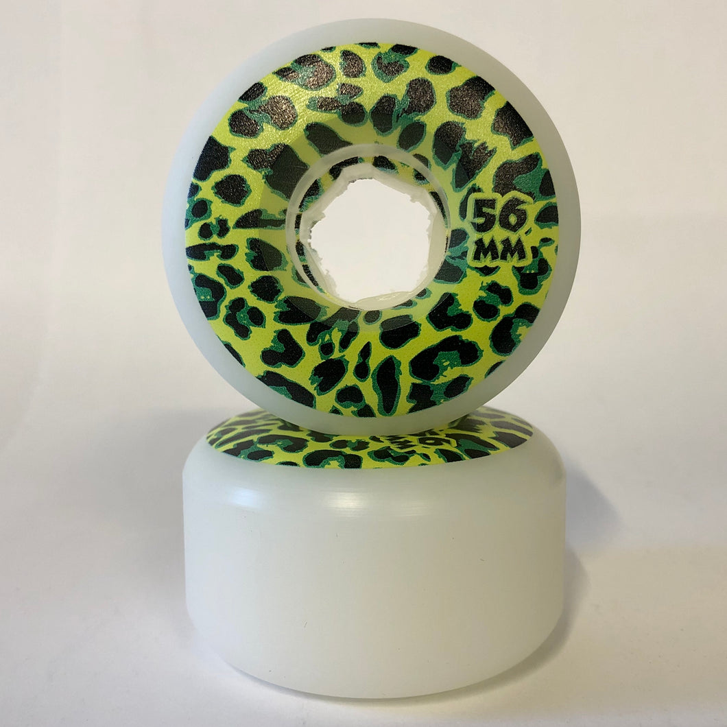 Rose Street Cheetah Wheels 56MM 99A