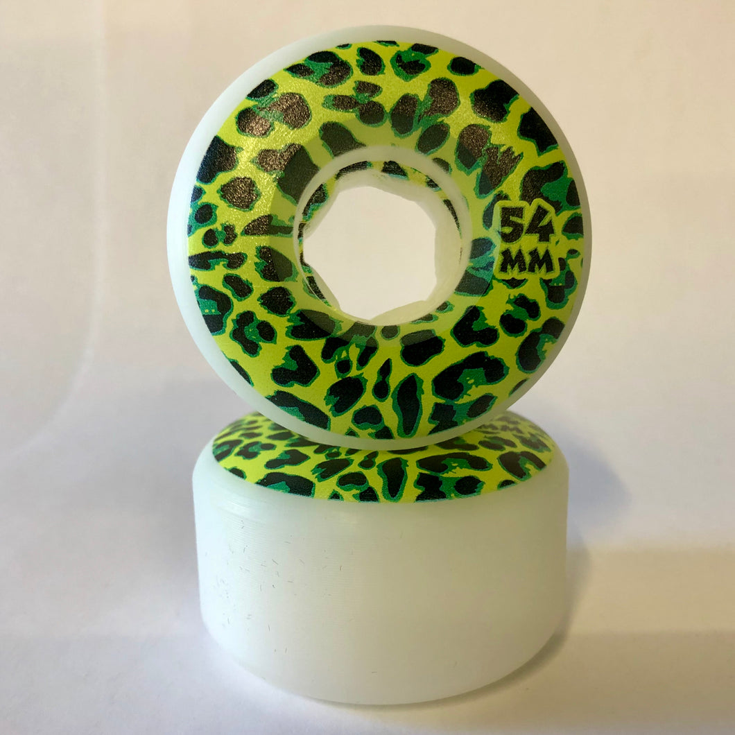 Rose Street Cheetah Wheels 54MM 99A
