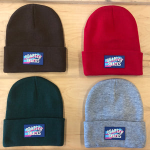 Quartersnacks Rubber label beanie Assorted Colors