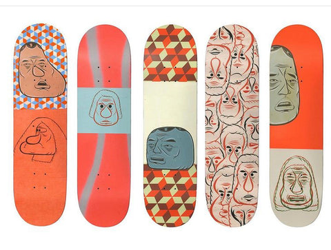 Baker Barry McGee 5 Deck Set