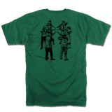 $lave Only Human Circle of Death Tee Forest Green