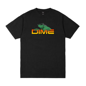 Dime Lizard T Shirt Black