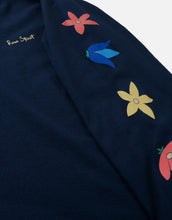 Load image into Gallery viewer, Rose Street May Flowers Long Sleeve Navy