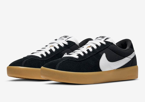 Nike SB Bruin React Black/white Gum Lt Brown