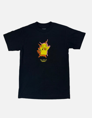 Rose Street Pika Tee Black